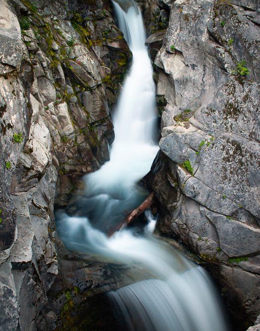 Waterfall on Mount Rainier