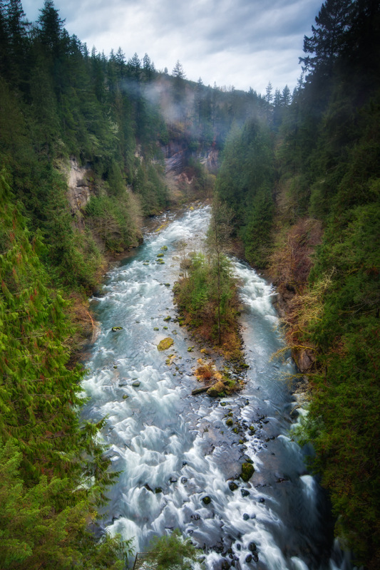 These Dizzying Heights – The Green River Gorge