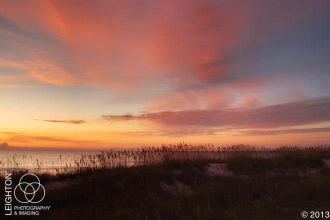 Sea Oats & Sunrise