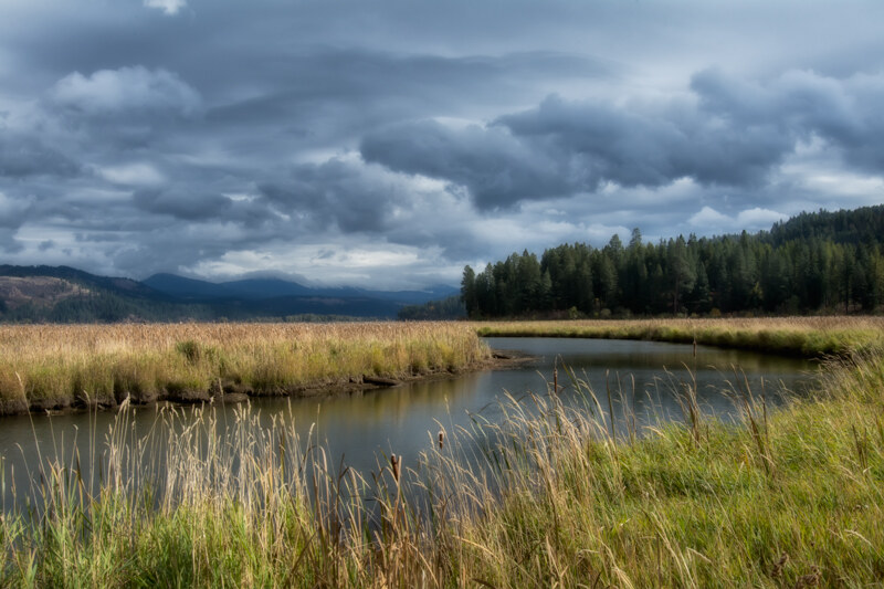 Stormy Weather over Idaho's Plummer Creek