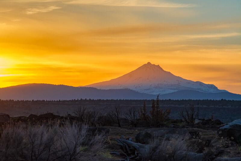 Oregon's Second Highest Volcano – Mount Jefferson
