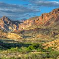 Chisos Mountains of West Texas